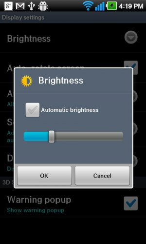 Manage your screen's brightness