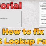 Fix 'DNS Lookup Failed' Error in Webpage Step by Step