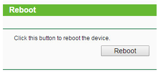 Reboot Power Cycle and Change Settings Your Router