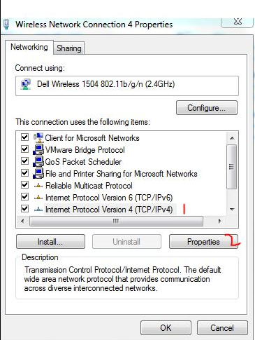 Change DNS Settings