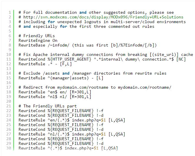 Check '.htaccess' File
