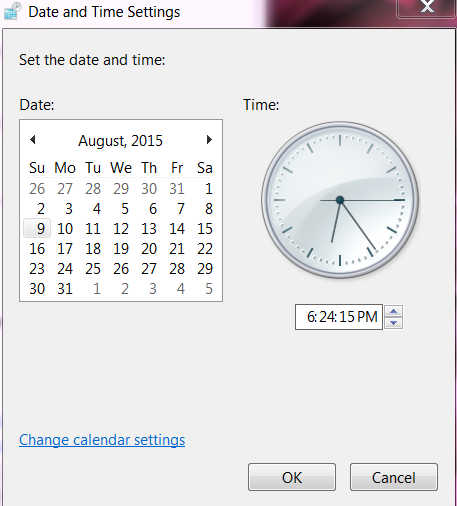 Check and Right Your Computer Time and Date