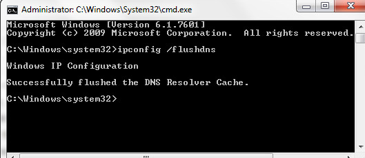 Flush or Renew DNS and IP Address 1