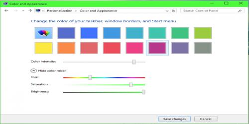 Change Taskbar Color