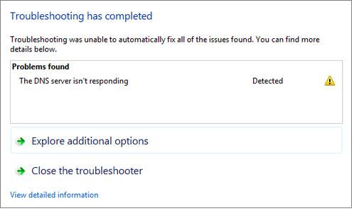 Best Fixing DNS Server Not Responding Error
