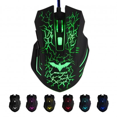 HAVIT HV-MS672 Ergonomic LED Wired Mouse