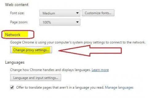 Change proxy Settings by toppctech.com
