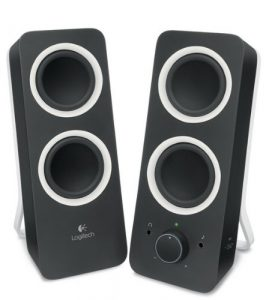 Logitech Multimedia Speakers Z200 with Stereo (Best speakers under 30)