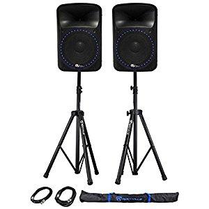 Rockville RPG15 PADJ Speaker Review (Best Powered Speakers)