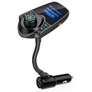 Nulaxy In-Car Bluetooth FM Transmitter