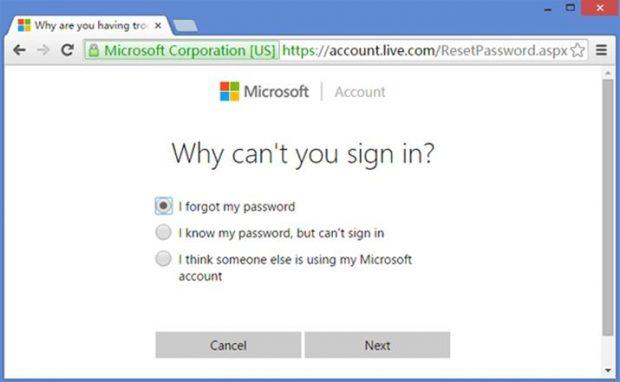 how do i reset my computer password windows 10