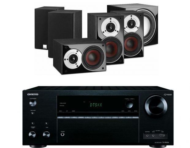 The Onkyo TX-NR656 Supports Both Atmos and DTSX