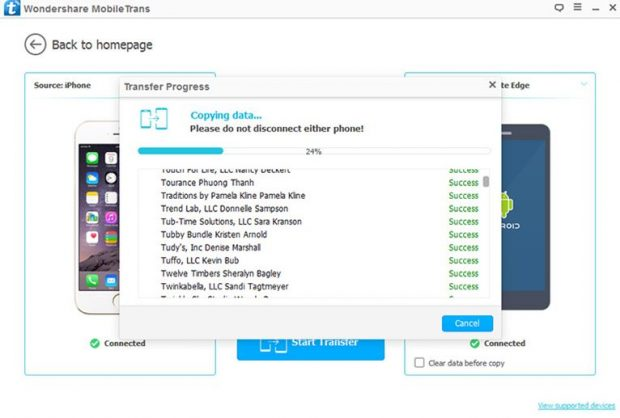 Transfer All Data To New Iphone