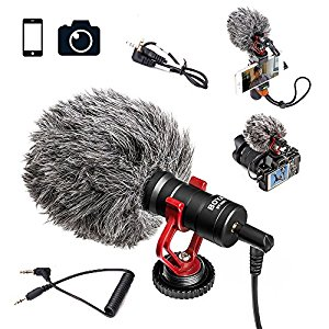 (Best Microphones For iPhone)BOYA BY-MM1 Video Microphone