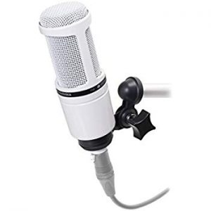 (Best Microphones For Rapping) Audio Technica AT2020 Microphone