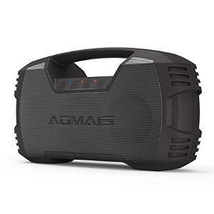 (Best Bluetooth Speakers Under $100) AOMAIS GO Bluetooth Speakers