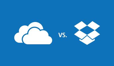 OneDrive VS Dropbox For Windows