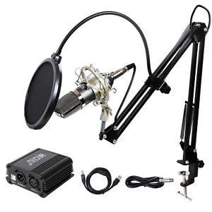 (best condenser microphones under $200) TONOR TN562BL Microphone