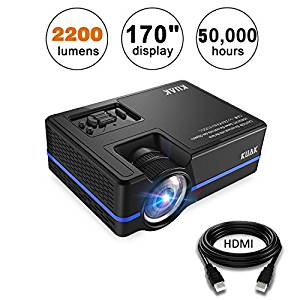 KUAK 2200 Lumens Projector