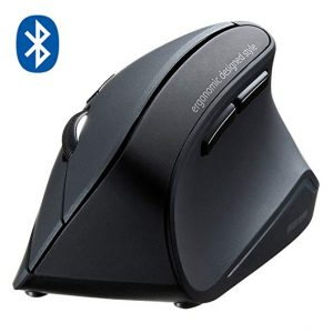 SANWA Bluetooth Vertical Ergonomic Mouse