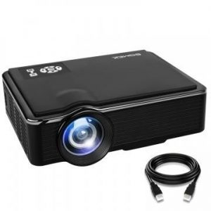 SOMEK 2400 lumen LED Projector