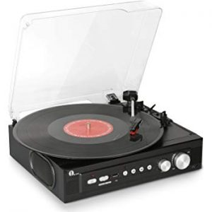 1byone Mini Stereo Turntable