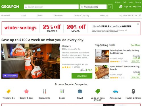 Sites Like Groupon