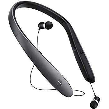 (Best Retractable Bluetooth Headset) JIPINRUI Bluetooth Headphones