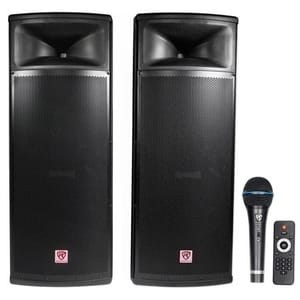 (Best Speakers For Parties) Rockville RPG225K