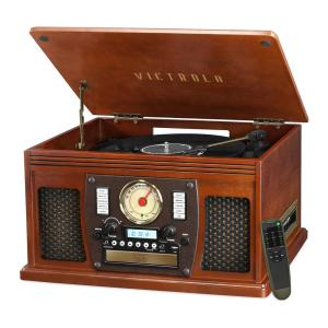 Victrola Navigator 8-in-1 Classic Turntable