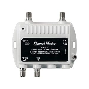 (Best Antenna Amplifier for TV) Channel Master CM-3412