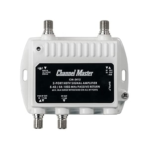(Best TV Antenna Amplifiers) Channel Master CM-3412